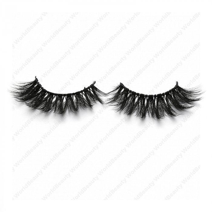 3D faux mink lashes black band NA-45