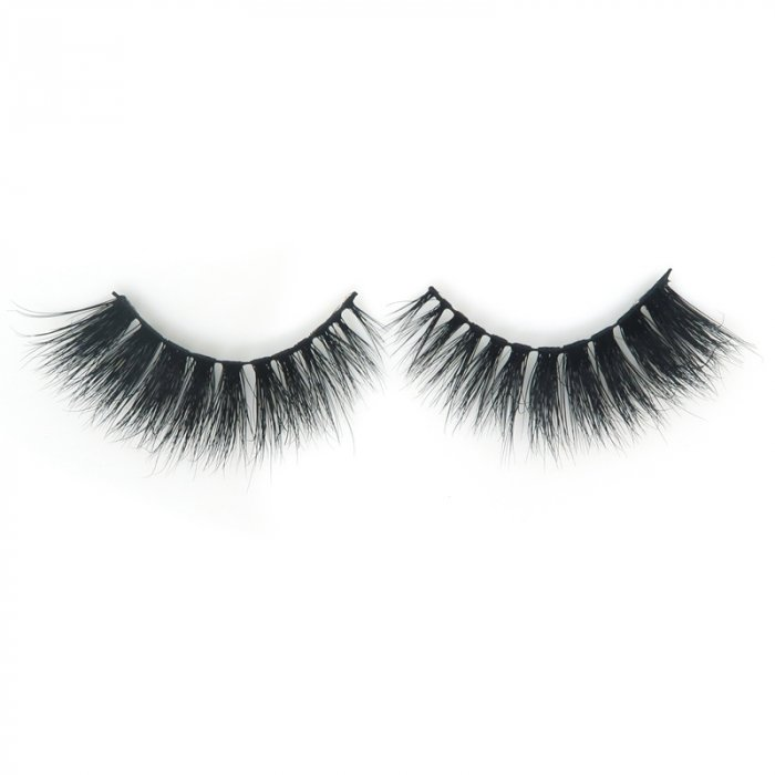 High quality 3D mink lashes HD017