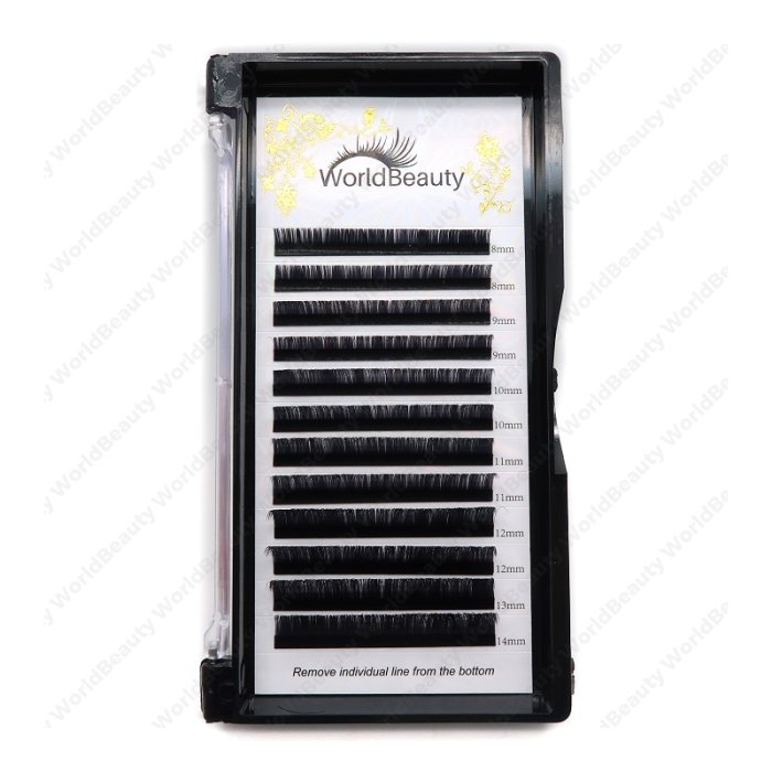0.05mm LD curl Volume eyelash extensions