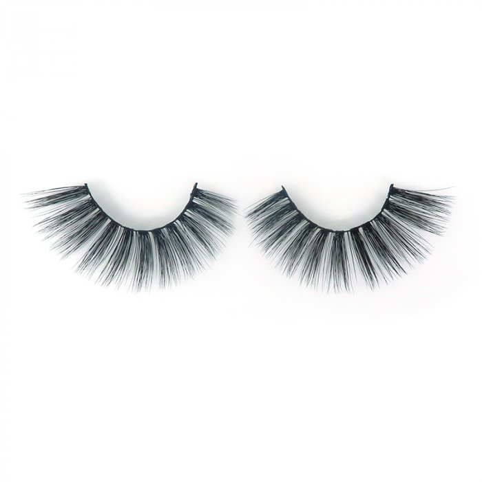 DH03---3D faux mink lashes black band