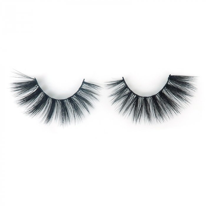DH02---3D faux mink lashes black band