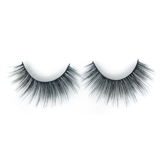 DH01---3D faux mink lashes black band
