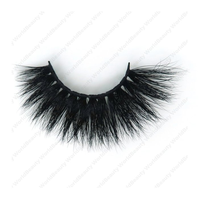 3D real mink fur eyelash--3D15LH