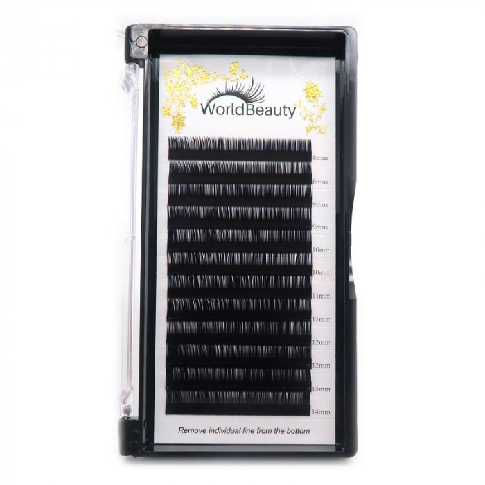 0.07mm LC curl Volume eyelash extensions