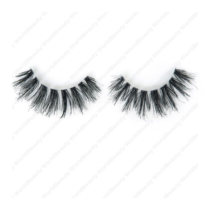 Human hair lashes-DS12