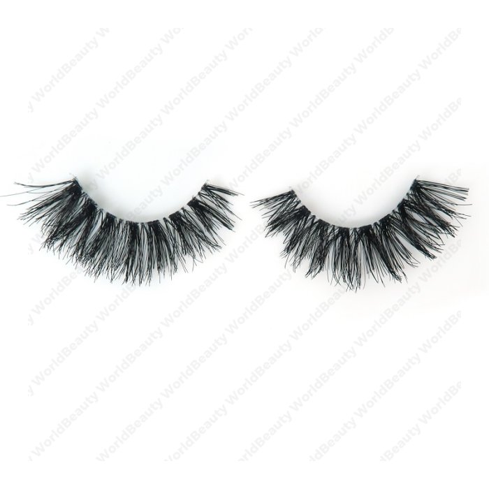Human hair lashes-DS11