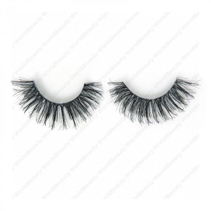Human hair lashes-DS10
