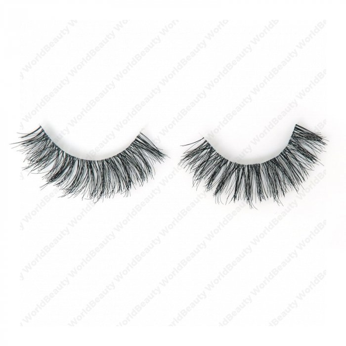 Human hair lashes-DS15