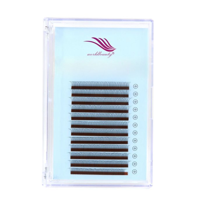 0.07 C 8mm YY eyelash extensions