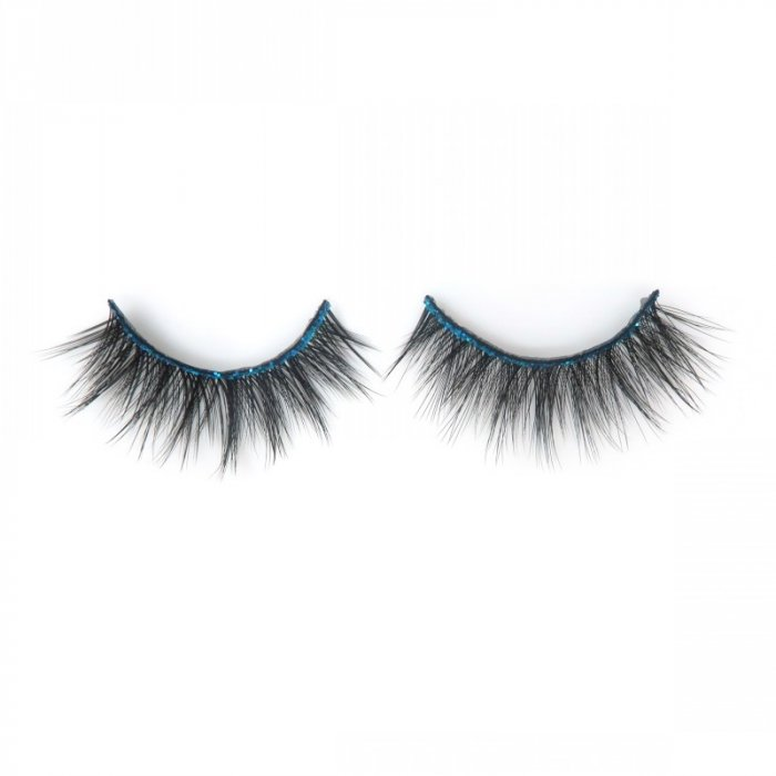 Glitter band 3D faux mink lashes 3DF-220