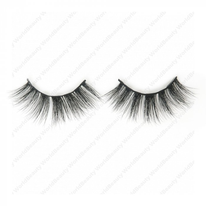 5D real mink fur eyelash-5D11
