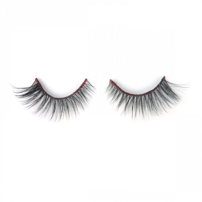 Glitter band 3D faux mink lashes 3DF-223