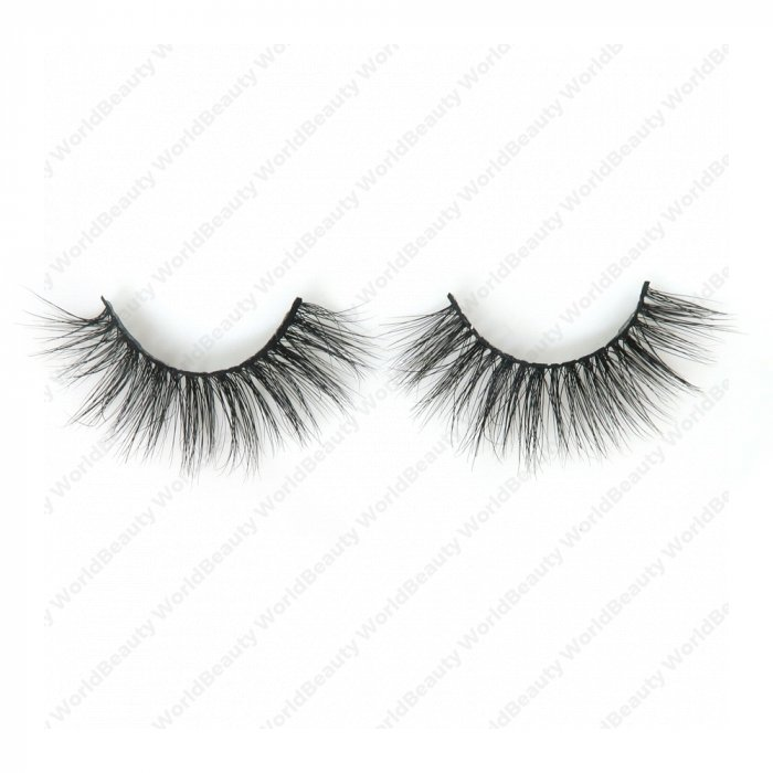 5D real mink fur eyelash-5d015