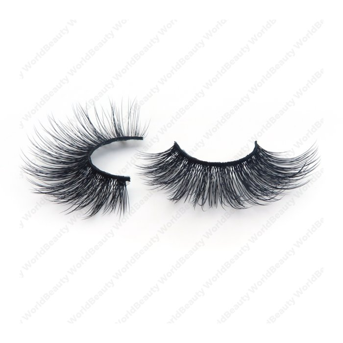 20mm extra long silk lashes-KSF06