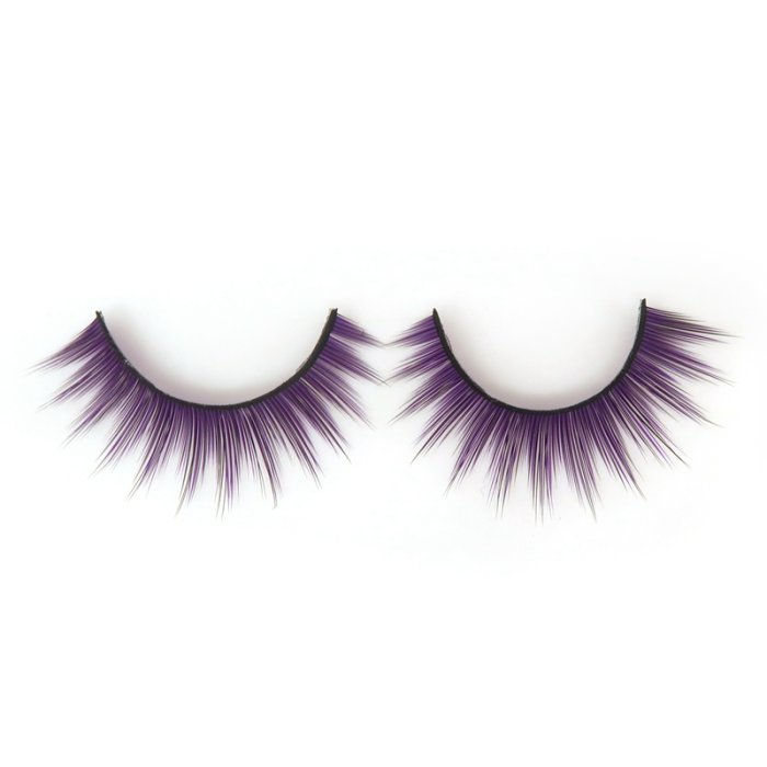Double layer colored silk false lashes--KSE-8069-Z