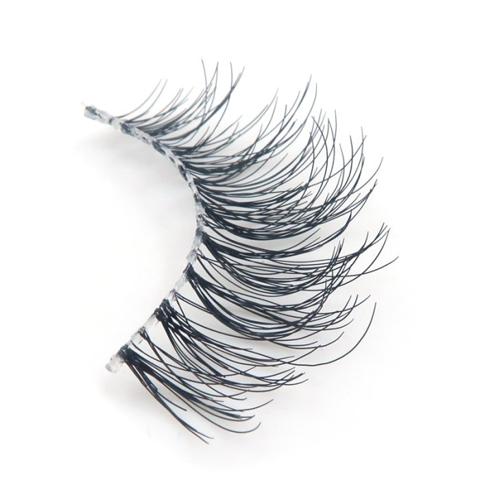 Human hair lashes-DMR01