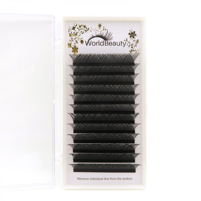 0.07mm 0.5 second Easy Fan YY eyelash extensions