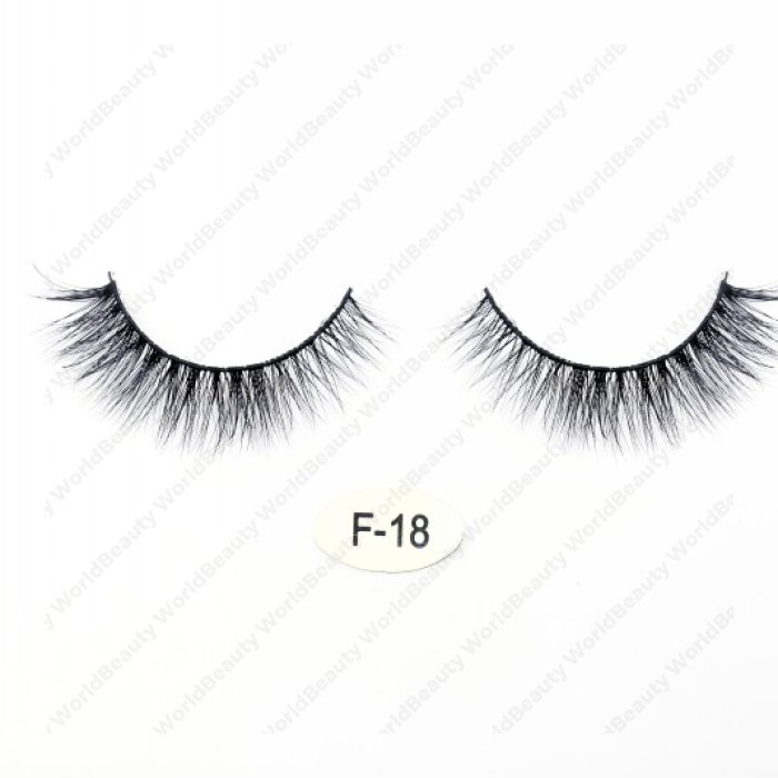 High quality real mink 3D lashes F18