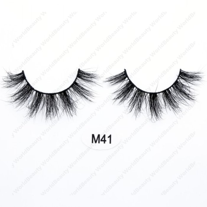 High quality real mink 3D lashes M41