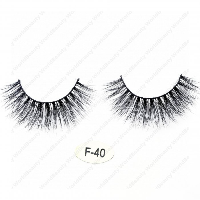 High quality real mink 3D lashes F40