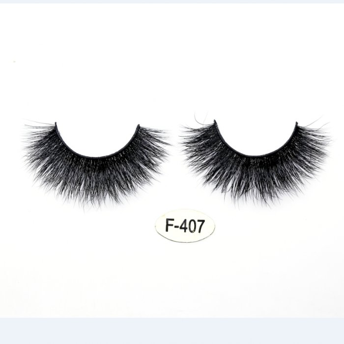 High quality real mink 3D lashes F-407