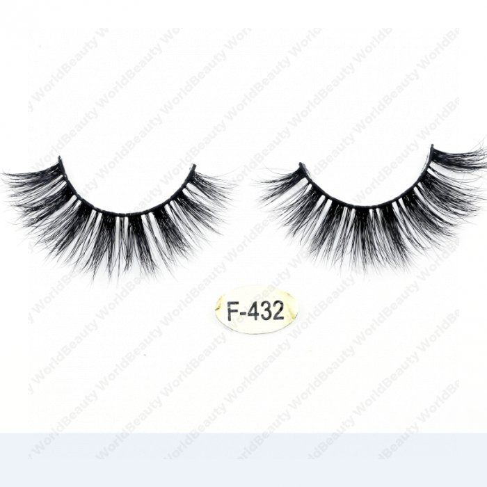 High quality real mink 3D lashes F-432