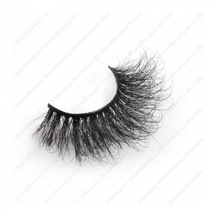 25mm fluffy 8d mink lashes-FMK 005B