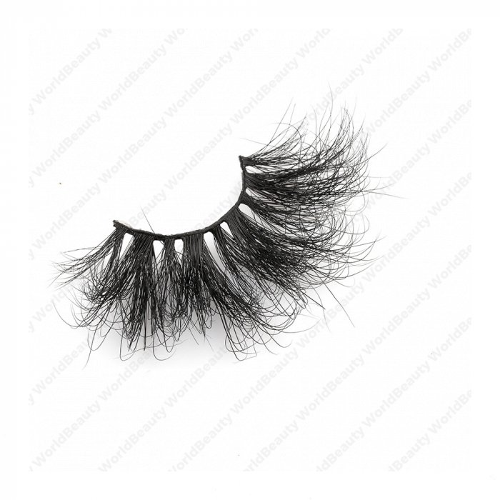 30mm fluffy 8d mink lashes FMS-3B