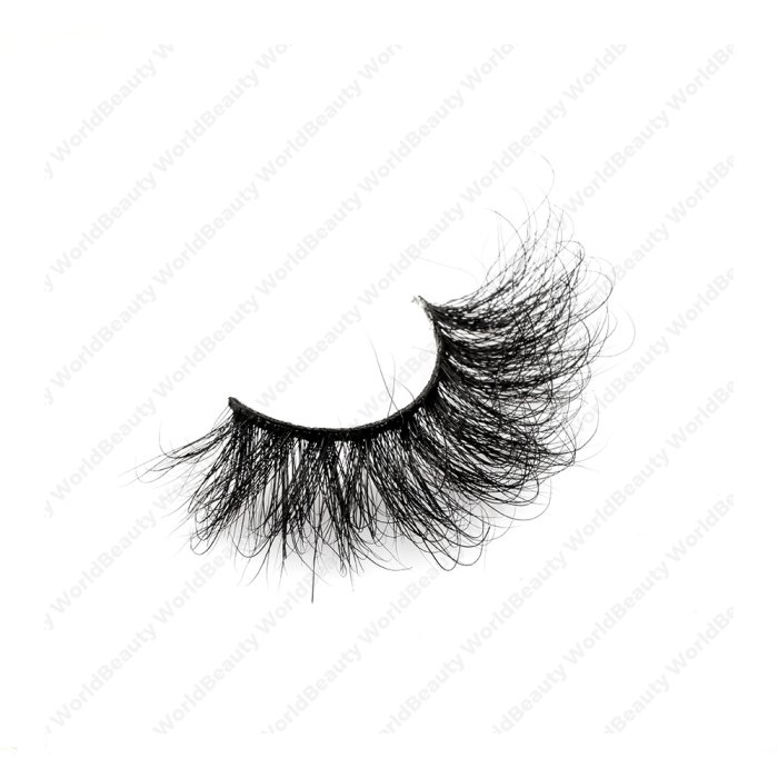 25mm fluffy 8d mink lashes-FMK 017B