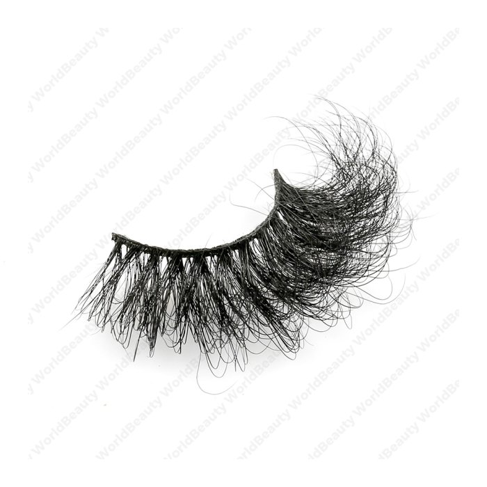 25mm fluffy 8d mink lashes-FMK 027B