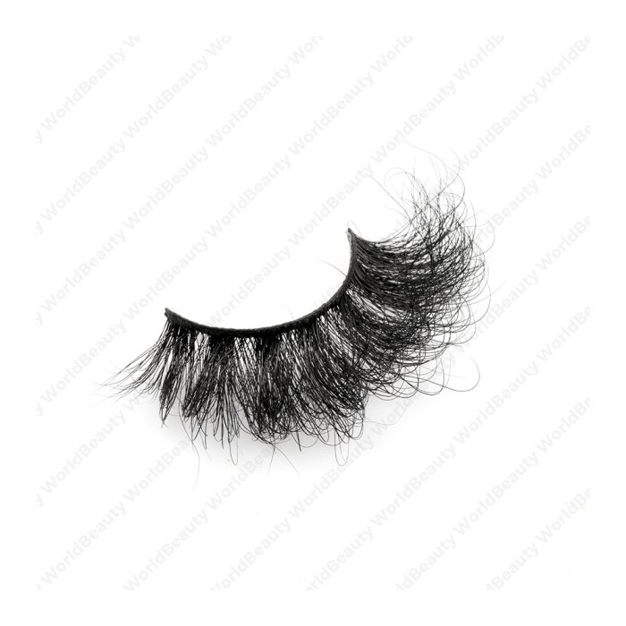 25mm fluffy 8d mink lashes-FMK 009B
