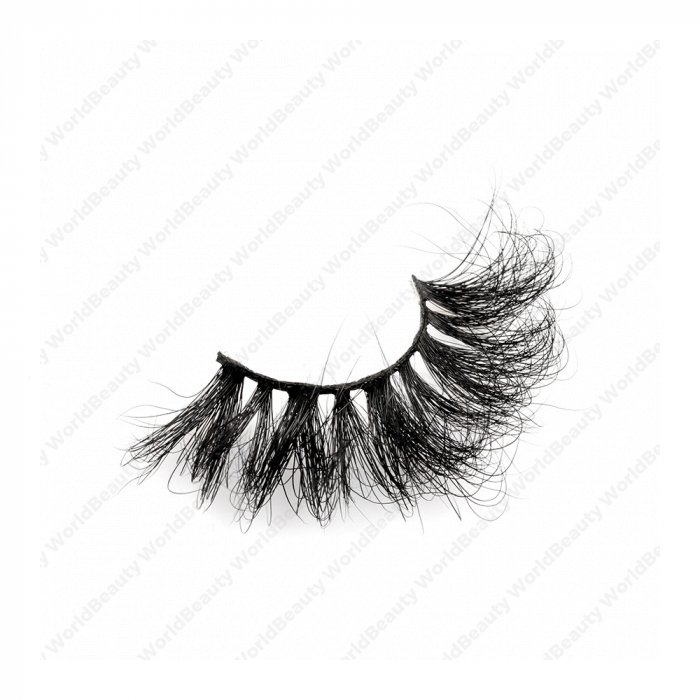 25mm fluffy 8d mink lashes-FMK 019B