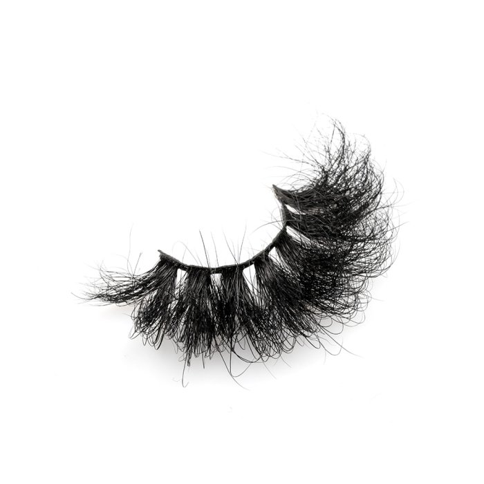 25mm fluffy 8d mink lashes-FMK 011B