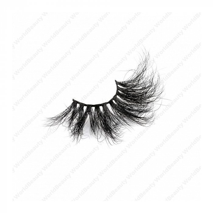30mm fluffy 8d mink lashes FMS-9B