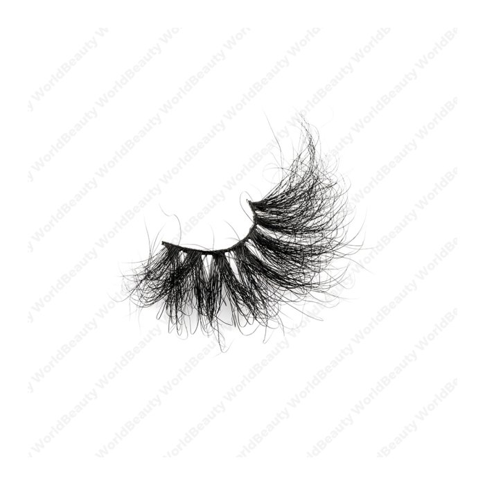 30mm fluffy 8d mink lashes FMS-10B