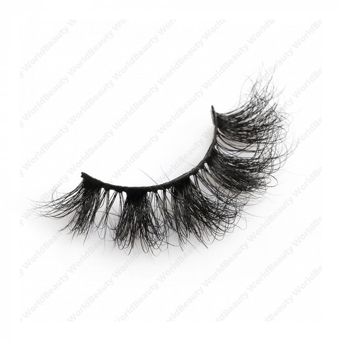 20mm fluffy 8d mink lashes FMZ-016B