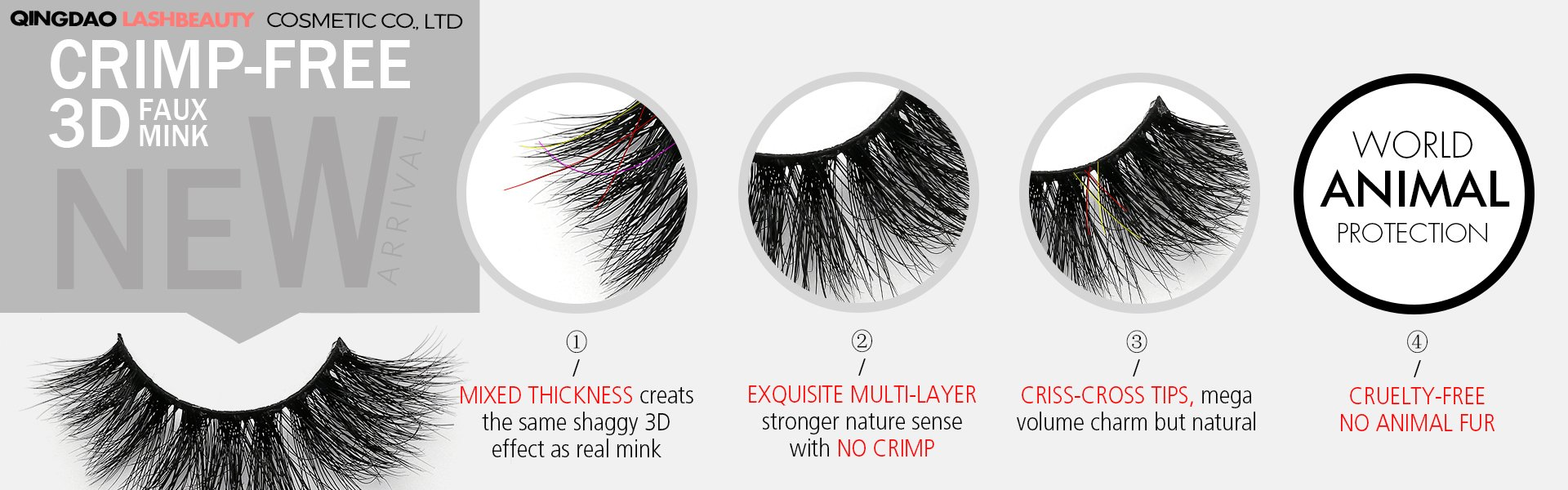 727a1f1604b World beauty lashes-Biggest eyelash manufacturer in China | Mink ...